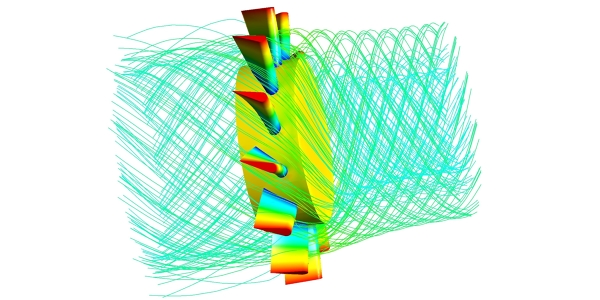 Axial Turbine Simulation