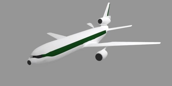 DC-10 Jetliner