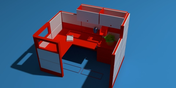 Office Space 2 Rendering