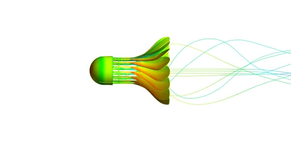 Shuttlecock Simulation with ANSYS Fluent