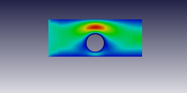 Shear Thickening Flow Simulation