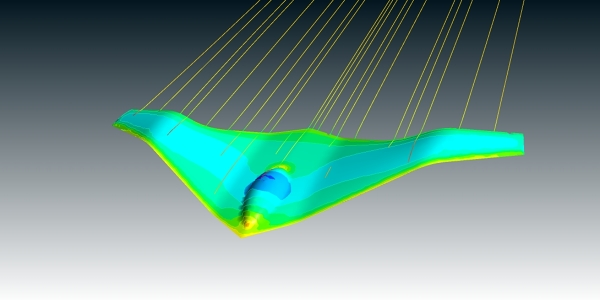 Unmanned Aerial Vehicle (UAV) Concept CFD Simulation