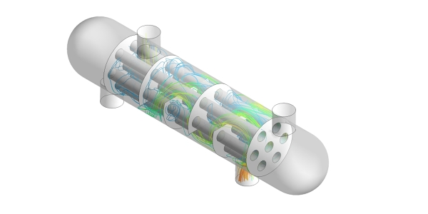 Shell and Tube Heat Exchanger CFD Simulation using ANSYS CFX