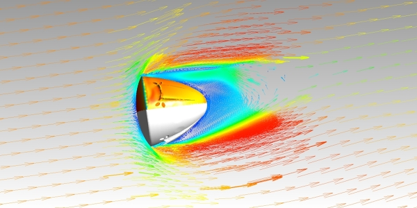 CFD Simulation of SpaceX Dragon