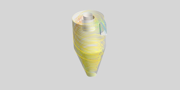 Cyclone Separator Simulation with ANSYS Fluent Discrete Phase Model (DPM)