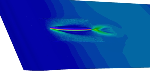 Ship Hull CFD Transient Simulation with Fluent
