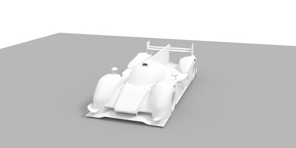 Audi R18 tdi 3D Model