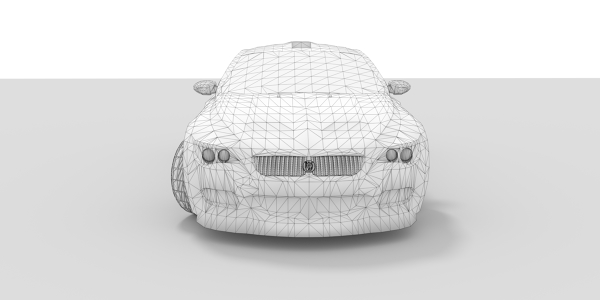 BMW M6 CAD