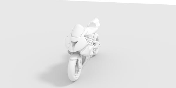 BMW S1000 3D Model