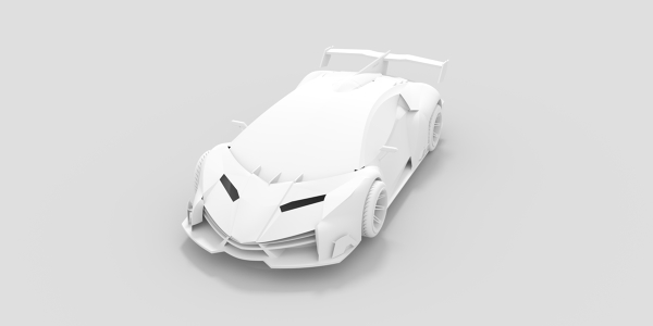 Lamborghini Veneno CAD