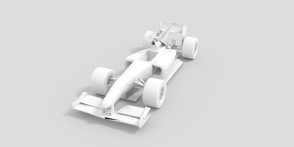 Scuderia Ferrari WRI CAD