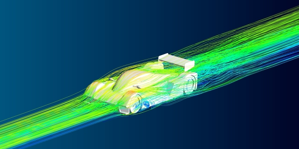 CFD Simulation of a Race Car using Ansys Fluent