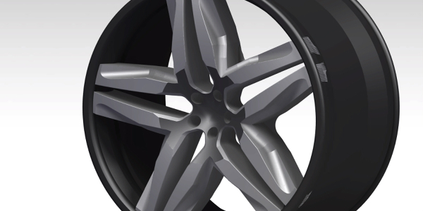 ALLOY WHEEL USING DIFFERENT MODULE IN CATIA