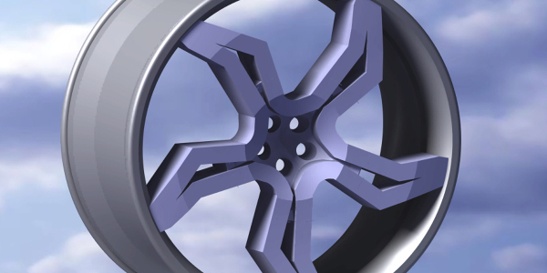 new design of alloy wheel