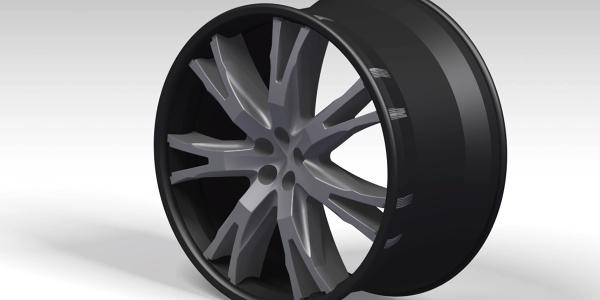 7 spoke wheel