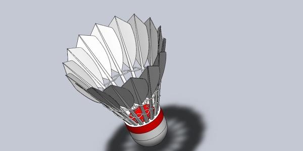shuttlecock airflow