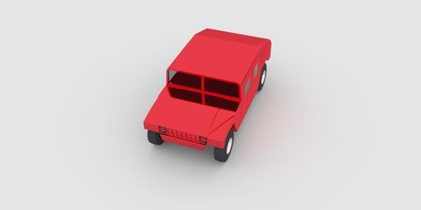 Hummer CAD Model