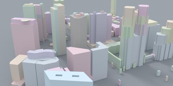Tokyo Skyline 3D Model