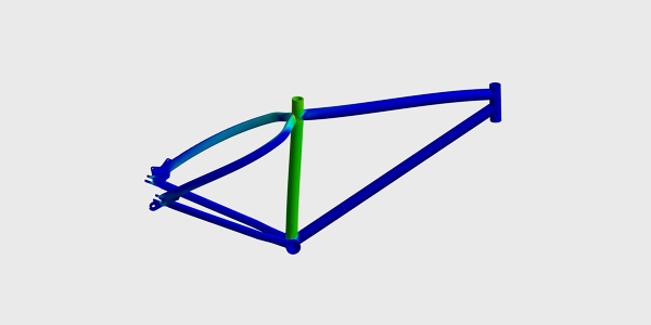 Bike Frame Structural Analysis | FEA