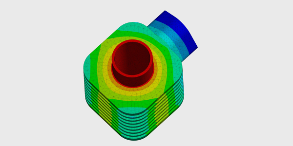 Thermal Structural Analysis of a Cylinder Head