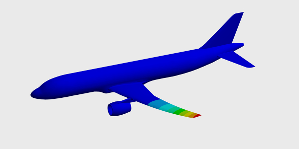 Vibration Analysis of an Aircraft Wing