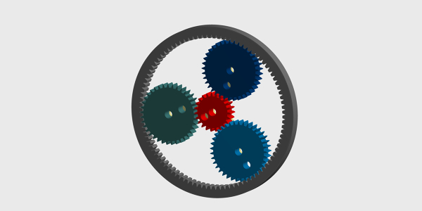 Epicyclic Gear Train Rigid Body Dynamics Analysis