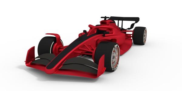 F1 2021 3D Model