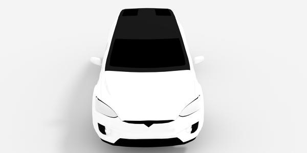 Tesla Model X 3D Model