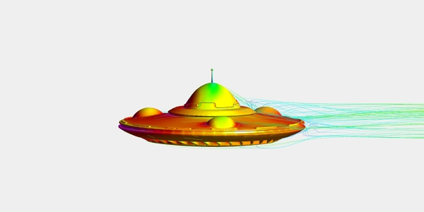 Aerodynamics Analysis of UFO
