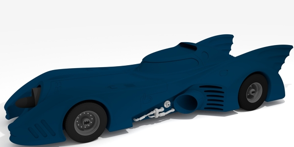 Batmobile Rendering
