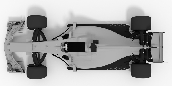 Williams 2017 F1 3D Model