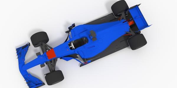 Toro Rosso 2017 F1 3D Model