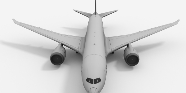Boeing 787 3D Model