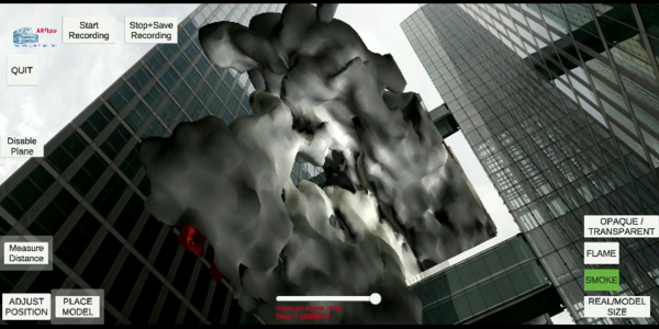 Fire High Rise Building: CFD Fire Simulation of the Highlight Towers in Munich