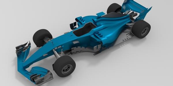 F1 2018 Car 3D Model
