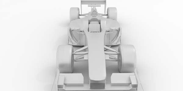 Williams F1 Car 3D Model