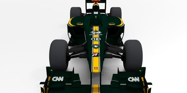 Lotus T127 F1 Car 3D Model