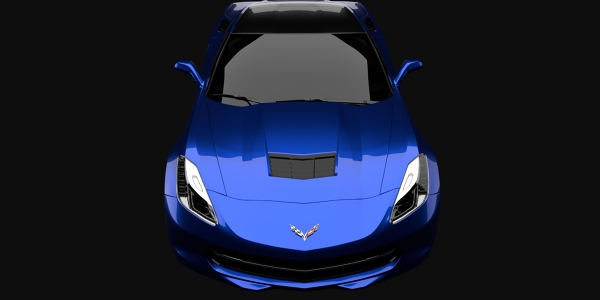 Chevrolet Corvette Stingray C7 Car 3D Model