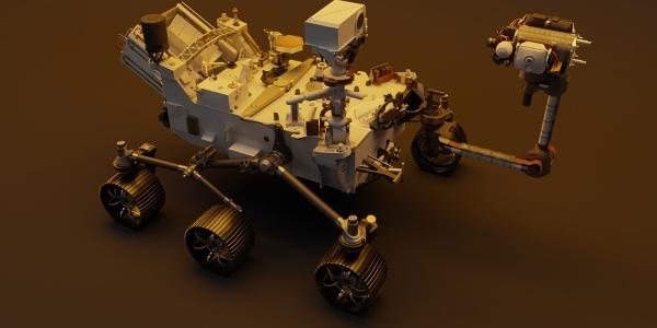 Mars Perseverance Rover 3D Model
