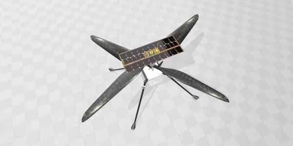Mars Ingenuity Helicopter 3D Model