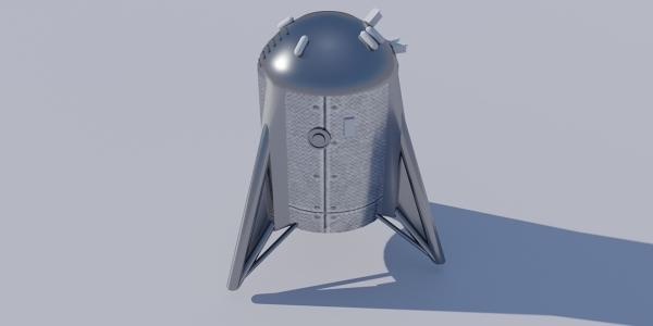 Starhopper 3D Model