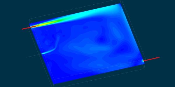 Water Storage CFD Simulation