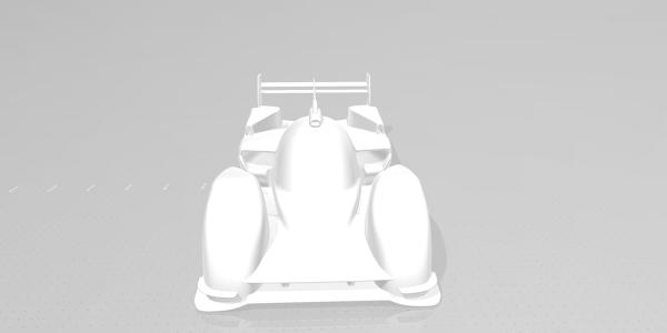 Porsche 919 Evo Race Car CAD Model for CFD