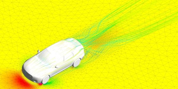 Computational Fluid Dynamics OF Audi A4