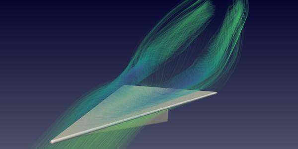 Slender Delta Wing: Low Speed Aerodynamics | OpenFOAM