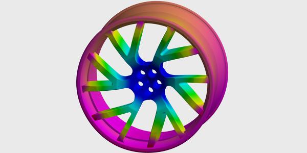FEM Simulation Wheel