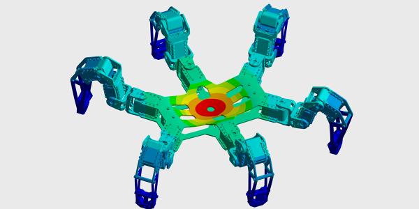 FEM Simulation Hexapod