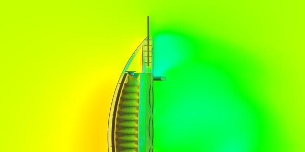 CFD Analysis Burj Al Arab