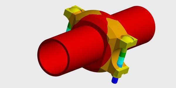 Thermal Analysis Pipe Coupling