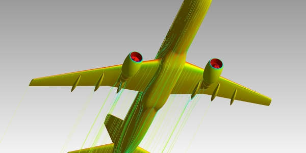 CFD of Boeing 757